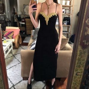 Vintage betsey and Adam cocktail dress